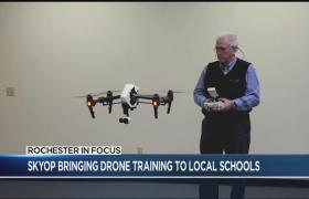 Rochester In Focus SkyOp bringing drone training to schools syndImport 080847 280x180